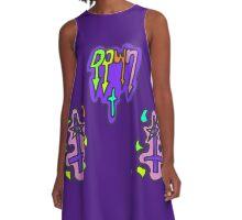 Zef - Down  A-Line Dress