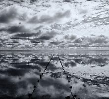 Salt Lake Reflections - Lake Hart by Dilshara Hill