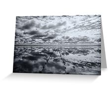 Salt Lake Reflections - Lake Hart Greeting Card