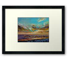 Tahiti Sunset Framed Print