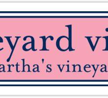 Vineyard Vines Sign Sticker