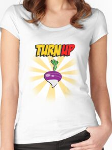 TurnUp Women's Fitted Scoop T-Shirt