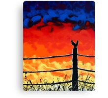 Not so Wildfire Canvas Print
