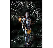 Robot Angel Painting 023 Photographic Print
