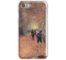 Claude Monet - The Shoot 1876 iPhone Case/Skin