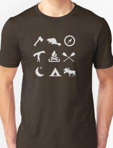 Camping Canoe Trip Unisex T-Shirt