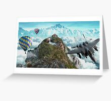 Sky mountain! Greeting Card