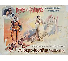 Performing Arts Posters Reeves Palmers Cosmopolitan Company 3034 Photographic Print