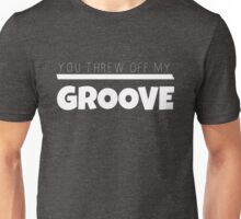 Groove in white Unisex T-Shirt