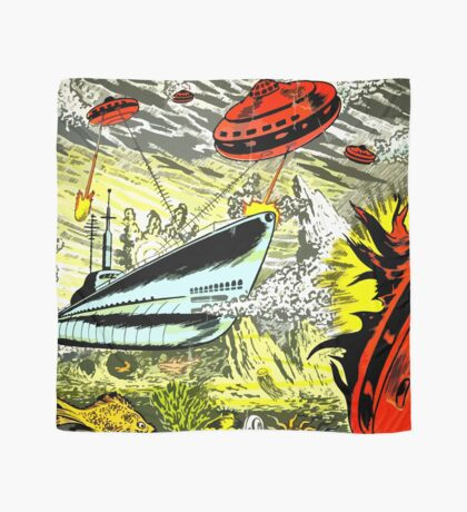 Atomic Sub VS intruders from Mercury! Scarf