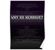 The Dark Knight - Why So Serious? Poster