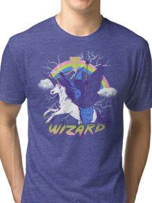 Pizza Wizard Tri-blend T-Shirt