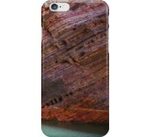 Hamersley Gorge rock strata and water iPhone Case/Skin