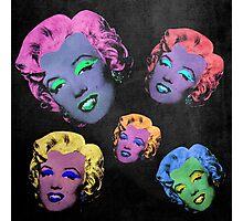 Vampire Marilyn 5b Photographic Print