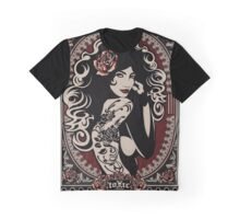 Toxic Rose Graphic T-Shirt