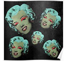 Vampire Marilyn 5b Poster