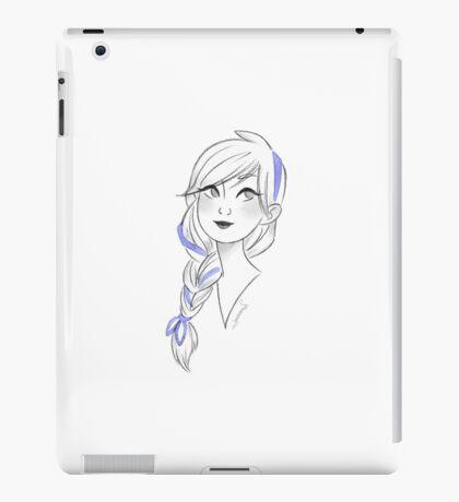 Blue Ribbon iPad Case/Skin