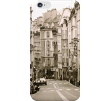 A Street in Paris iPhone Case/Skin