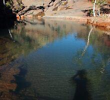 leaving my shadow spirit in the Pilbara by gaylene