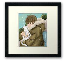Makoto Tachibana - Season 2 Eternal Summer [Redrawn Version]  Framed Print