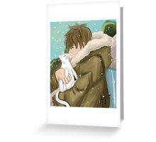 Makoto Tachibana - Season 2 Eternal Summer [Redrawn Version]  Greeting Card