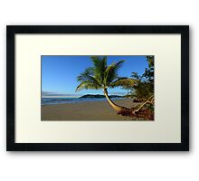 Thornton beach Daintree coast  Framed Print