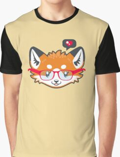 Nerdy Knitwear FOX - head only Graphic T-Shirt