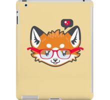 Nerdy Knitwear FOX - head only iPad Case/Skin