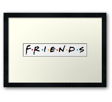 Friends (TV Show) - Logo Framed Print