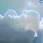 Pastel Clouds by Sandra  Aguirre