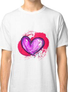 Pink-ish Heart [1] Classic T-Shirt