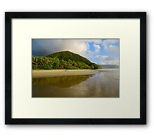 Wet season Daintree coast Framed Print