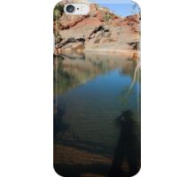 leaving my shadow spirit in the Pilbara iPhone Case/Skin