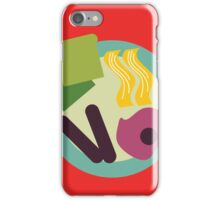 Crazy Breakfast iPhone Case/Skin
