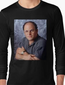 George Costanza Portrait Seinfeld Long Sleeve T-Shirt