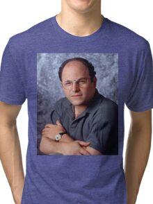 George Costanza Portrait Seinfeld Tri-blend T-Shirt
