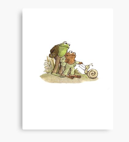 Frog & Toad Canvas Print