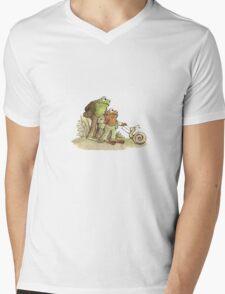 Frog & Toad Mens V-Neck T-Shirt