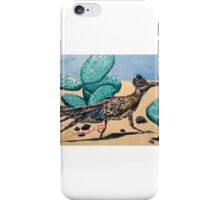 Roadrunning Home From Party iPhone Case/Skin