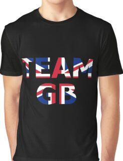 Patriotic Team Great Britain (GB) Graphic T-Shirt