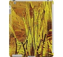 Reeds by the stream iPad Case/Skin