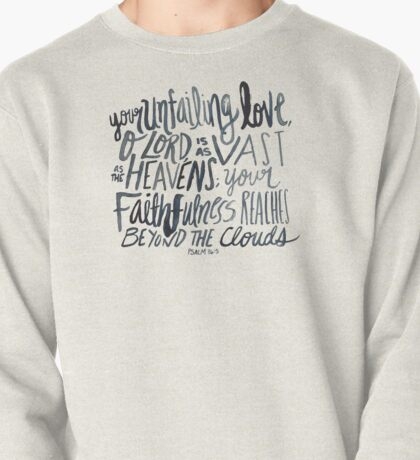 Psalm 36:5 Pullover