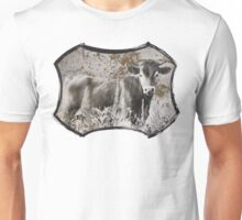 Heifer in the Flowers Unisex T-Shirt