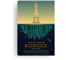 Bioshock Faux Movie Poster Canvas Print