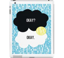 The Fault in Our Stars Typography iPad Case/Skin