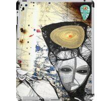 gaia embrace green iPad Case/Skin