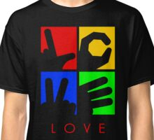 Love Hand Sign Classic T-Shirt