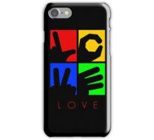 Love Hand Sign iPhone Case/Skin