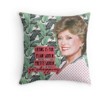 Blanche Devereaux Throw Pillow