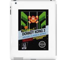 Donkey Kong 3 iPad Case/Skin